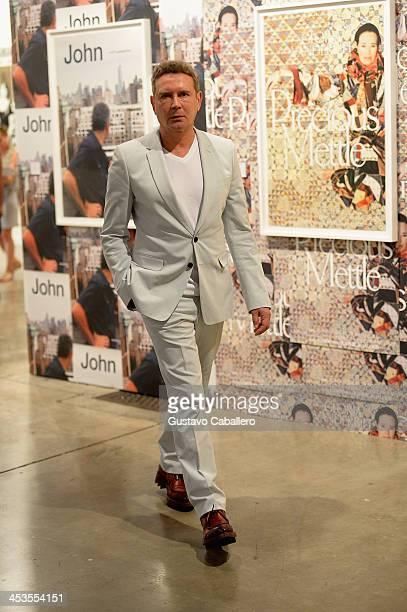 Collector Eugene Sadovoy attends Art Basel Miami Beach 2013 VIP Preview at the Miami Beach Convention Center on December 4 2013 in Miami Beach Florida