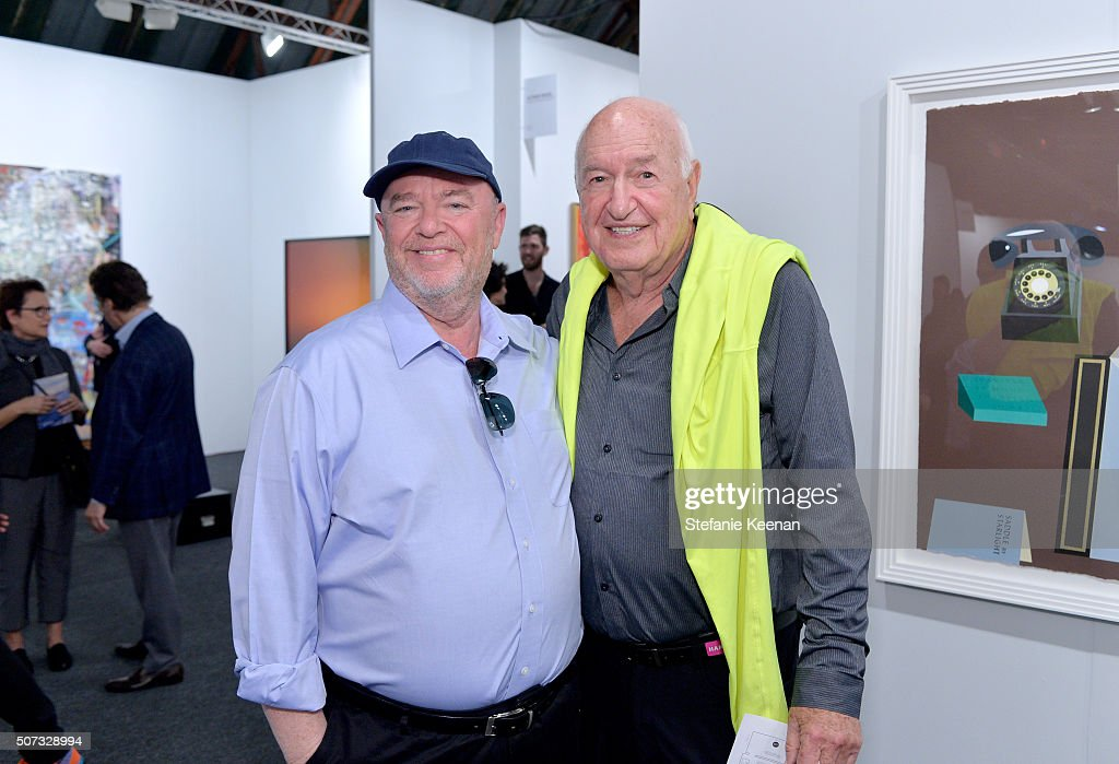 Collectors Dean Valentine And Don Rubell Attend The Art Los Angeles  Contemporary 2016 Opening Night At