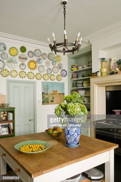 Collector's house in north London with interior design by Sue Timney