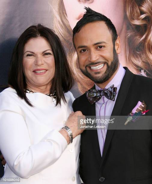 Colleen Atwood and Nick Verreos arrive for Disney's 'Alice In Wonderland' Costume Exhibition Opening Night Gala at FIDM Museum Galleries on the Park...