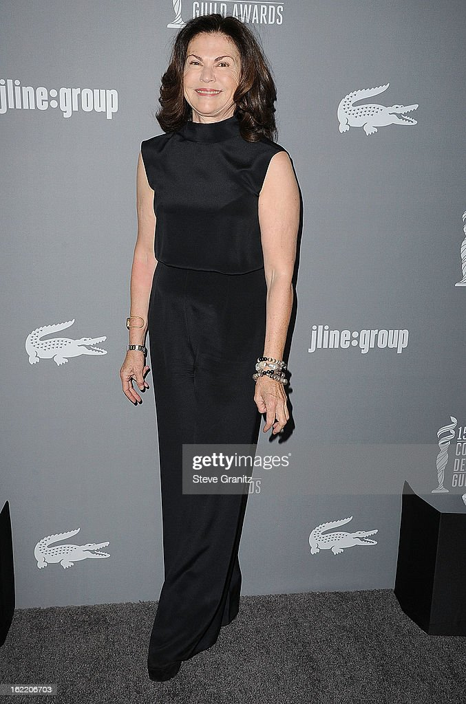 Colleen Atwood arrive at the 15th Annual Costume Designers Guild Awards at The Beverly Hilton Hotel on February 19, 2013 in Beverly Hills, California.