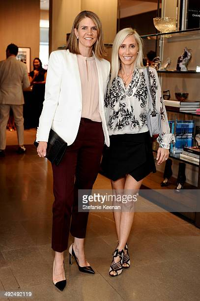 Colleen Bell and Alexandra Von Furstenberg attend Monique Lhuillier Pre Fall Lunch on May 20 2014 in Los Angeles California