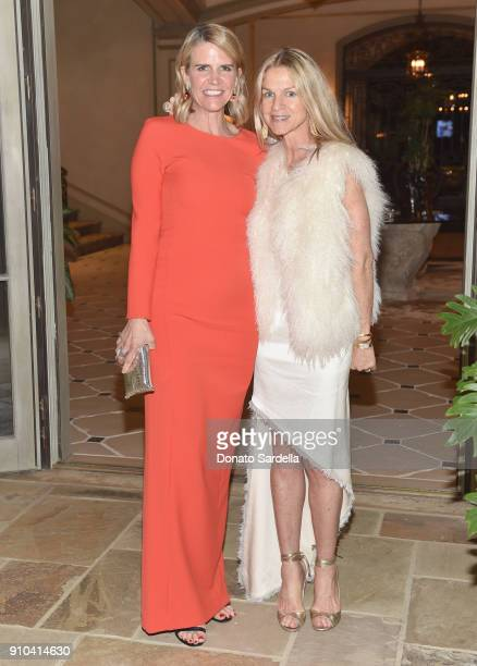 Colleen Bell and Crystal Lourd attend Learning Lab Ventures Gala in Partnership with NETAPORTER on January 25 2018 in Beverly Hills California