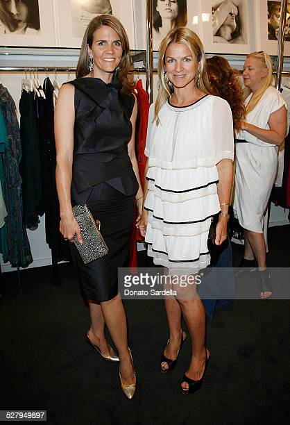Colleen Bell and Crystal Lourd attend the Resurrection Presents Mirror of Venus on May 14 2009 in Los Angeles California