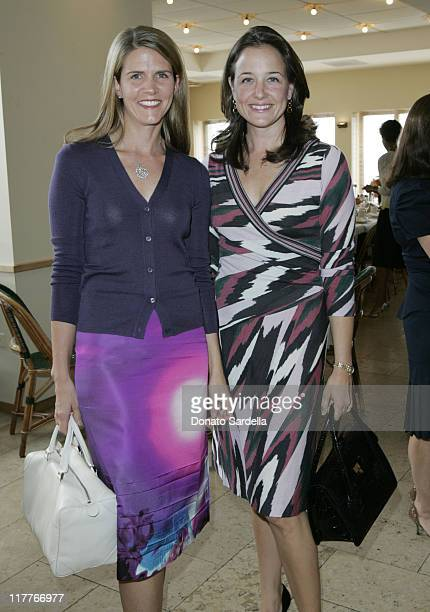 Colleen Bell and Elizabeth Wiatt during Frederic Malle Fragrance Launch Breakfast at Barneys New York in Beverly Hills at Barney's Greengrass in...