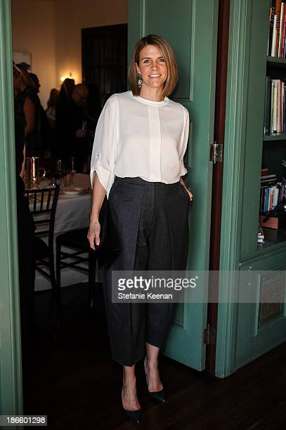 Colleen Bell attends David Webb 65th Anniversary Luncheon With Glenda Bailey on November 1 2013 in Los Angeles California