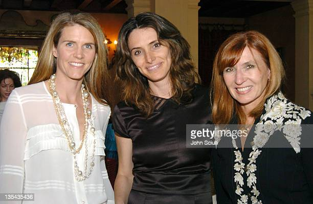 Colleen Bell Elizabeth Stewart and Nicole Miller during PS Arts' 2nd Annual Bag Lunch Ladies of Los Angeles Shop for Charity at Private Residence in...