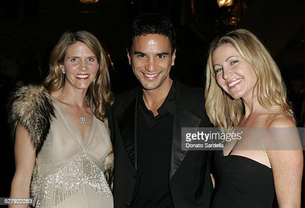 Colleen Bell Jsaac Joseph and Laurie Feltheimer during NYC Ballet Gala to Benefit The Center Dance Association at The Music Center Inside at Dorothy...