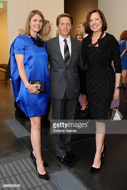 Colleen Bell, producer Bradley Bell and Ann Colgin attend LACMA's 2014 Collectors Committee Gala Dinner at LACMA on April 26, 2014 in Los Angeles,...