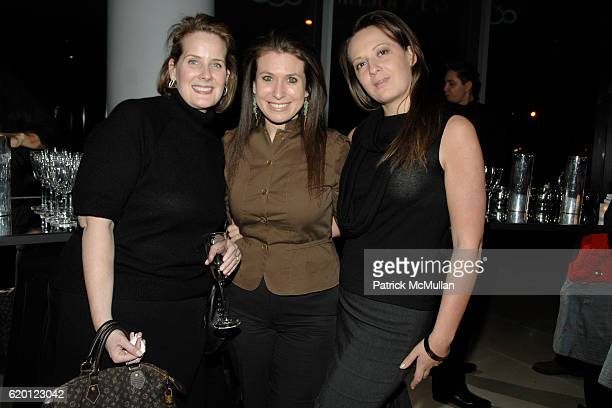 Colleen Buckley Meredith Dichter and Pippa McArdle attend TRAVEL LEISURE 2008 Design Awards at IAC Building on February 12 2008 in New York City