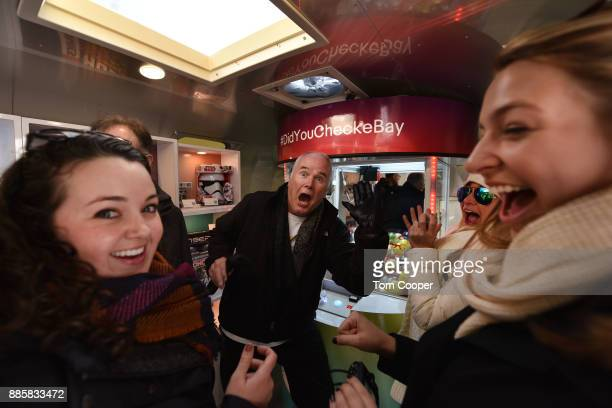 Colleen Cannan Patrick Cannan and Julie Guerra of Buffalo New York winning an set of Apple Airpods and a fifty dollar Ebay gift card on the Ebay claw...