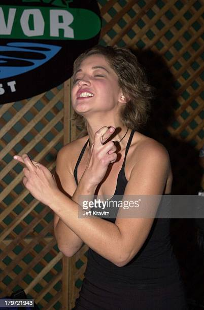 Colleen Haskell during Survivor finale party at Television City in Los Angeles California United States