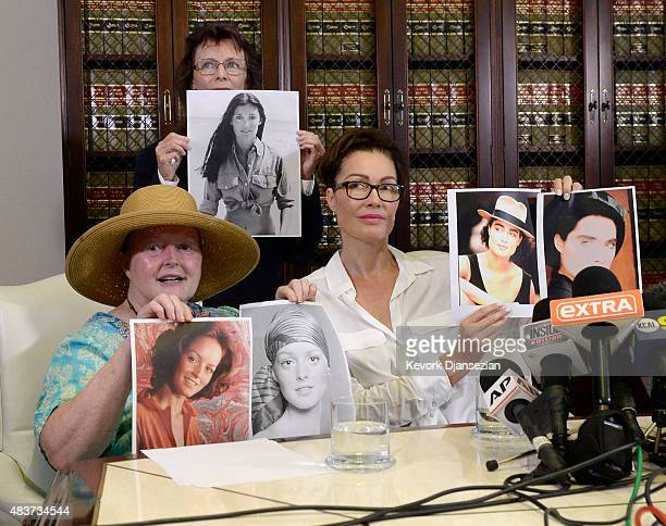 Colleen Hughes Linda Ridgeway Whitedeer who are accusing comedian Bill Cosby of sexual assault and Eden Tirl who is accusing Cosby of sexual...