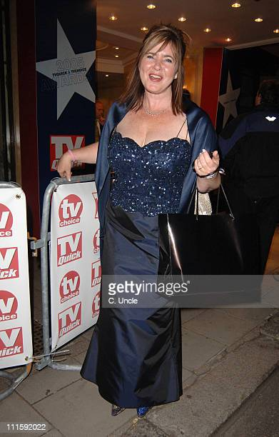 Colleen Nolan during 2005 TV Quick & TV Choice Awards - After Party at The Dorchester in London, Great Britain.