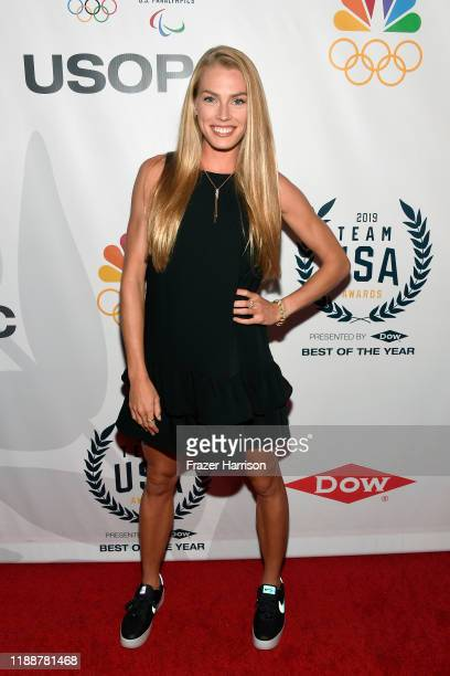 Colleen Quigley attends the 2019 Team USA Awards at Universal Studios Hollywood on November 19 2019 in Universal City California