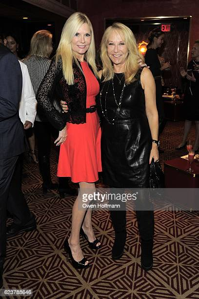 Colleen Rein and Missy Lubliner attend Cassandra Seidenfeld Hosts Impromptu Ladies' Luncheon at Doubles Club on November 15 2016 in New York City