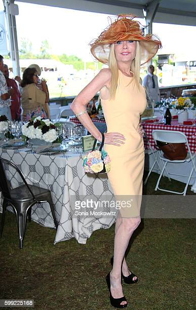 Colleen Rein attends the 41st Annual Hampton Classic Horse Show Grand Prix on September 4 2016 in Bridgehampton New York