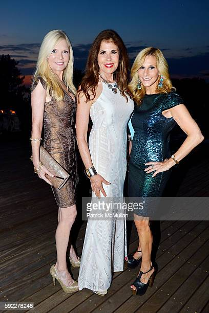 Colleen Rein Lauren Day Roberts and Randi Schatz attend as Honoree Janna Bullock Hosts a Private Dinner Party to Raise Awareness for Hour Children...