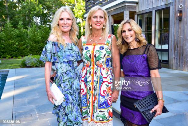 Colleen Rein Ruth Miller and Randi Schatz attend AVENUE on the Beach Invites You To Celebrate Our July Issue at Mecox Barn on July 13 2018 in...