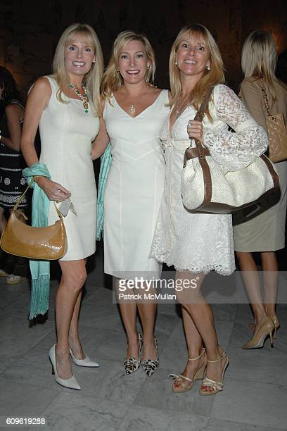 Colleen Rein Sharon Giese and Ramona Singer attend The 3rd Annual MADISON SQUARE Boys Girls Club Purses Pursonalities Luncheon honoring Vera Wang...