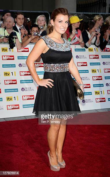 Colleen Rooney attends the Pride of Britain Awards at the Grosvenor House Hotel on October 3 2011 in London England
