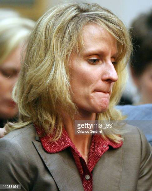 Colleen Shipman becomes emotional after making a statement Tuesday November 10 during a pretrial hearing in Orlando Florida Lisa Nowak former NASA...