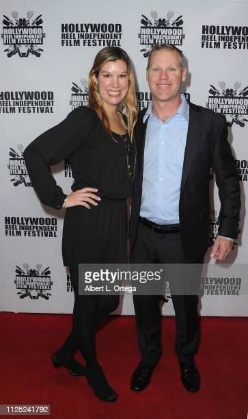 Colleen Waton and Jim Watson arrive for The 2019 Hollywood Reel Independent Film Festival held at Regal LA Live Stadium 14 on February 15 2019 in Los...