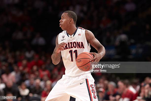 2K Sports Coaches vs Cancer Arizona Josiah Turner in action vs St John's at Madison Square Garden New York NY CREDIT Porter Binks