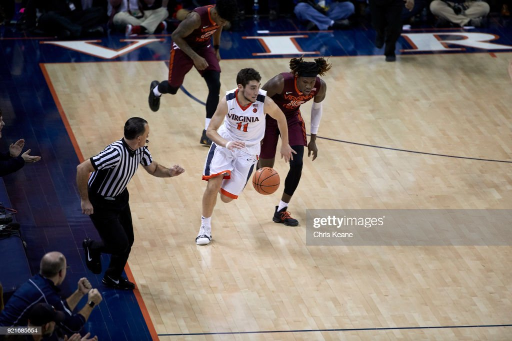 University of Virginia vs Virginia Tech University : News Photo