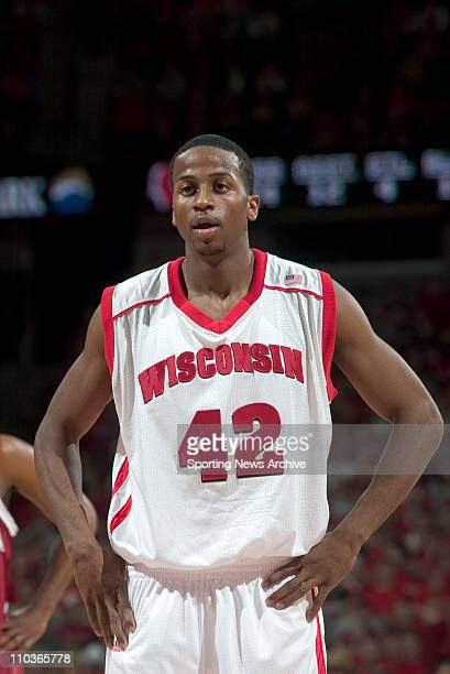College Basketball Alabama against Wisconsin Alando Tucker in Madison Wis on Dec 29 2004 Wisconsin won 7662