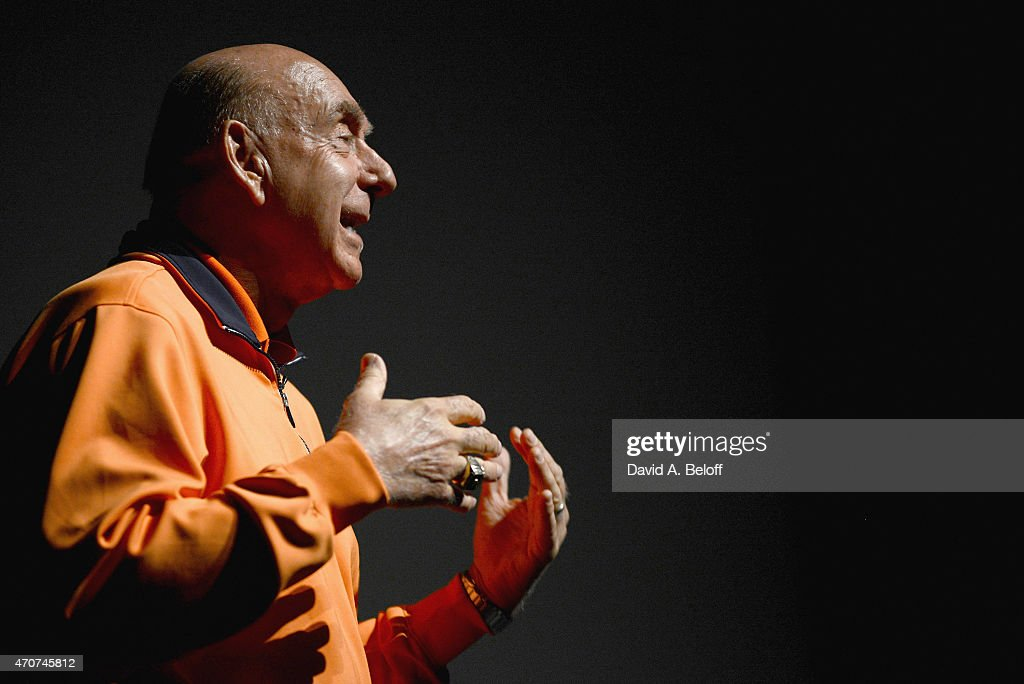 College Basketball Analyst Dick Vitale speaks at The