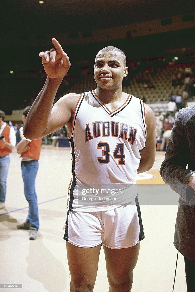 Auburn Charles Barkley Before Game Vs Mississippi State