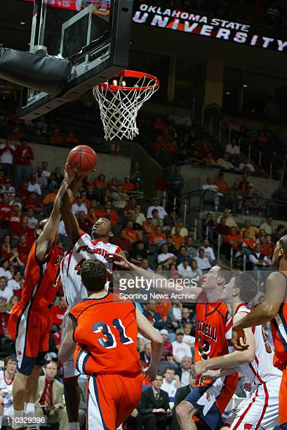 College Basketball Bucknell Darren Mastropaolo against Wisconsin Alando Tucker during the second round of the NCAA Tournament in Oklahoma City Okla...