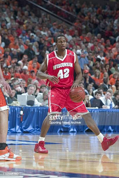 College Basketball Championship Illinois against Wisconsin Alando Tucker during the Big 10 Tournament at the United Center in Chicago Ill March 13...
