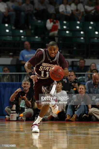 College Basketball Championship - Mississippi State Gary Ervin against Duke during the second round of the NCAA Tournament at the Charlotte Coliseum...