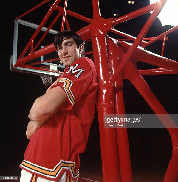 College Basketball Closeup portrait of Maryland Tom McMillen College Park MD 10/5/1971