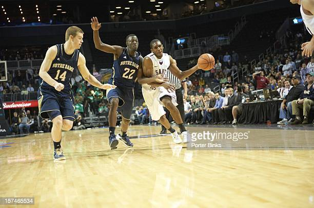 Coaches vs Cancer Classic Saint Joseph's Langston Galloway in action vs Notre Dame at Barclays Center Brooklyn NY CREDIT Porter Binks