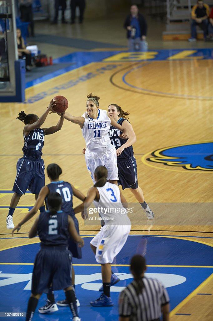 Delaware Elena Delle Donne in action vs UNC Wilmington at