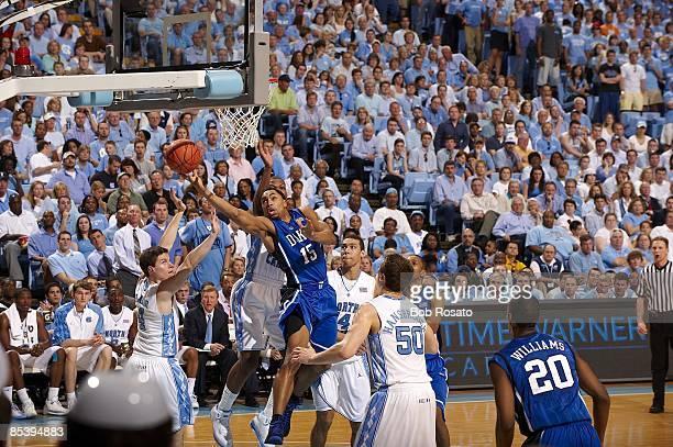 Duke Gerald Henderson in action vs North Carolina. Chapel Hill, NC 3/8/2009 CREDIT: Bob Rosato