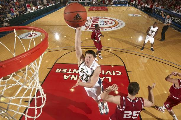 ... 2008 EA Sports Maui Invitational1 picture. Embed. EmbedLicense. Notre Dame Luke Harangody (44) in action vs Indiana. Game 2. Maui