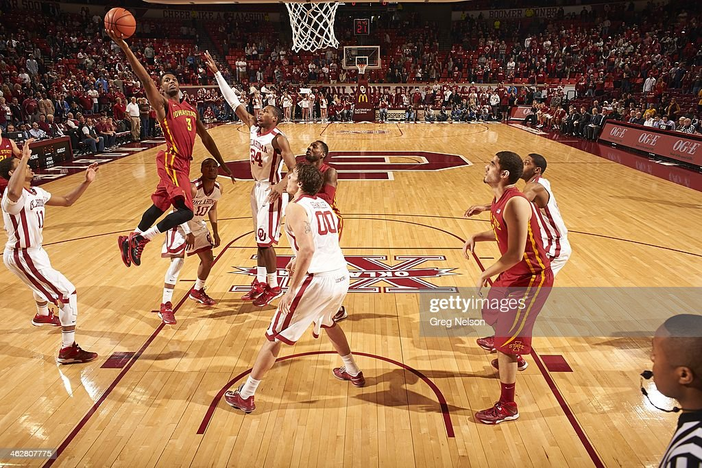 university of oklahoma vs iowa state university pictures getty images