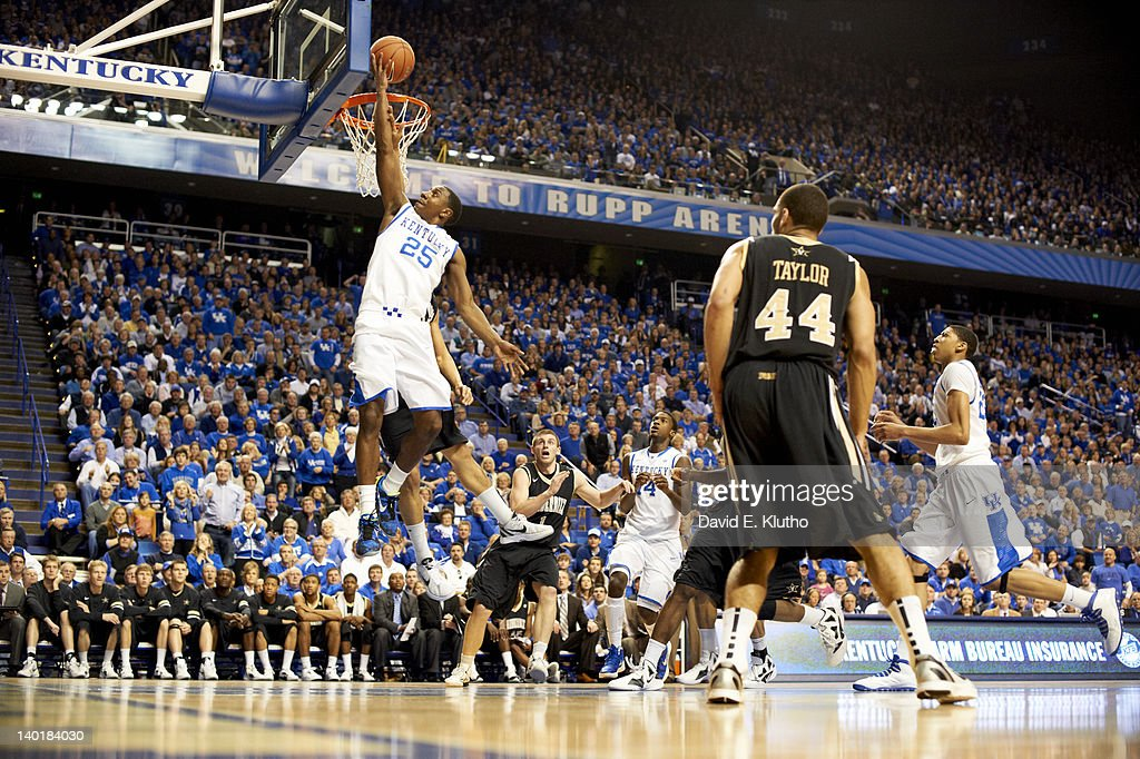 Kentucky Marquis Teague (25) in action vs Vanderbilt at Rupp Arena. David E. Klutho F164 )