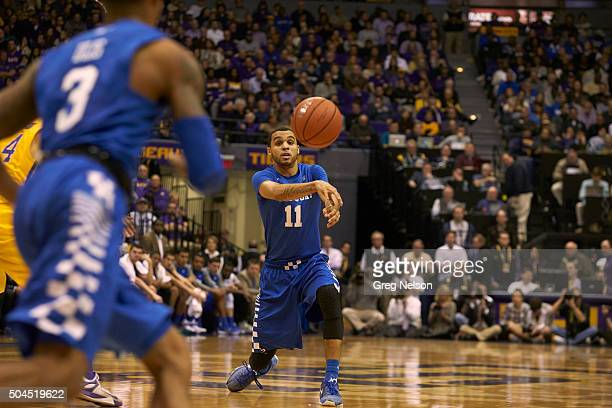 Kentucky Mychal Mulder in action passing vs LSU at Pete Maravich Assembly Center Baton Rouge LA CREDIT Greg Nelson