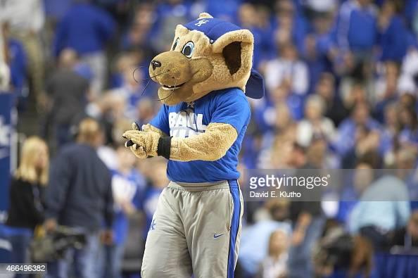 Kentucky Wildcat mascot during game vs Vanderbilt at Rupp ...