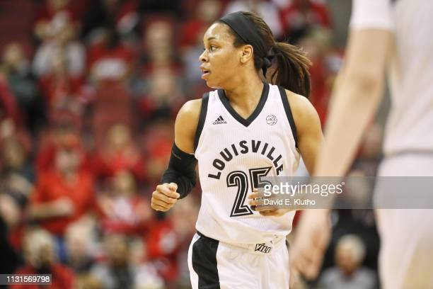 Louisville Asia Durr during game vs North Carolina State at KFC Yum Center Louisville KY CREDIT David E Klutho