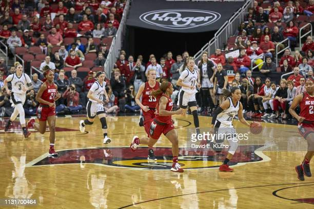 Louisville Asia Durr in action vs North Carolina State at KFC Yum Center Louisville KY CREDIT David E Klutho