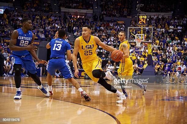 LSU Ben Simmons in action vs Kentucky at Pete Maravich Assembly Center Baton Rouge LA CREDIT Greg Nelson