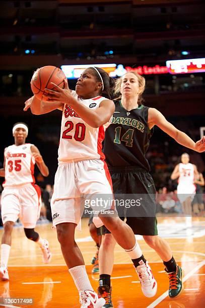 Maggie Dixon Classic: St. John's Keylantra Langley in action vs Baylor at Madison Square Garden. New York, NY CREDIT: Porter Binks