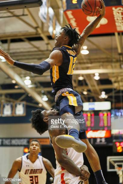 Murray State Ja Morant in action dunk vs Tennessee Martin at Elam Center Sequence Martin TN CREDIT David E Klutho