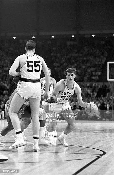 NCAA Final Four Kentucky Pat Riley in action vs Texas Western at Cole Field House College Park MD CREDIT Rich Clarkson